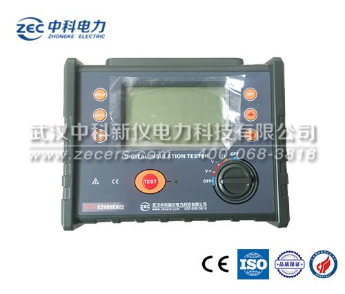ZEC3150 便攜式數顯絕緣電阻測試儀